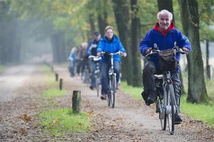 Fietsroutes zijn een belangrijke pijler in de toeristische recreatie van de Hof van Twente.