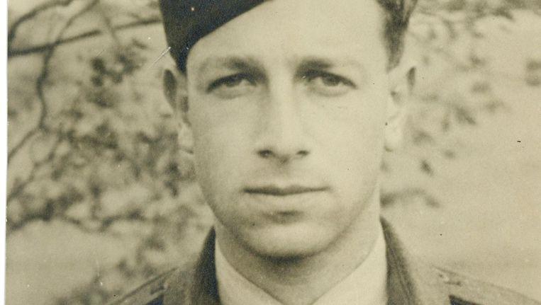 Engeland-vaarder Philip Jacobs in 1945. Beeld -