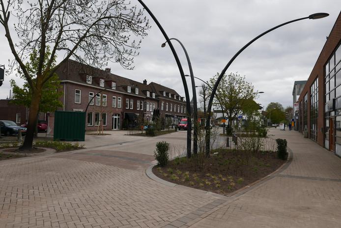 Het vernieuwde Stationsplein in Boxtel.