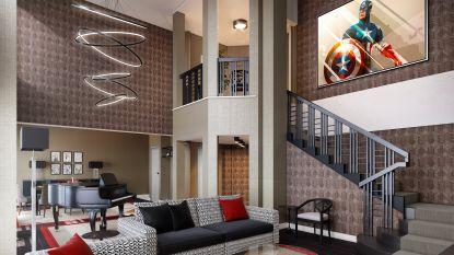 IN BEELD. Zo ziet het allereerste Marvel-hotel ter wereld eruit