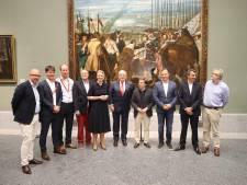 Utrechts feestje in Madrid: start Vuelta 2020 officieel overdragen aan Nederland