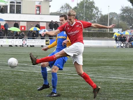 JVC-spits Van der Laan wekt interesse van profclubs