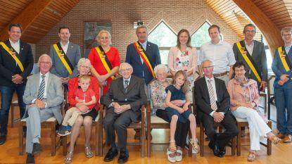 Huwelijksbootje van Frans en Georgette vaart al 70 jaar