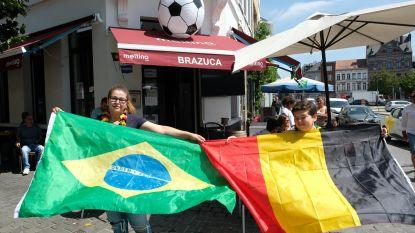 """""""Mijn hoofd zegt België, mijn hart Brazilië"""""""