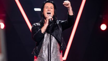Dat is durven: Jennifer Berton waagt kans in  The Voice met nummer van ...jurylid Natalia