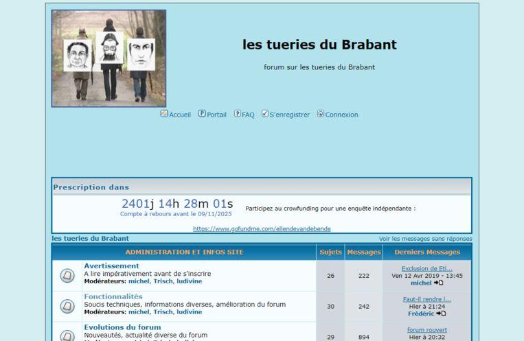 Forum over 'Les tueries du Brabant', of de Bende van Nijvel.
