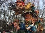 Lepelstraatse carnavalswagen klaar voor carnaval: 'Alles ziet eruit zoals op de tekeningen'