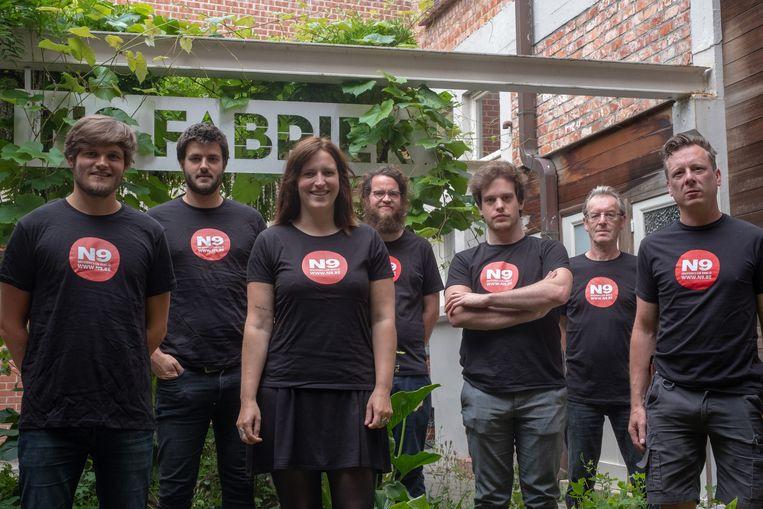Het team van N9.