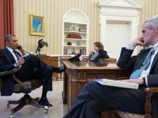 Une photo d'Obama s'entretenant avec le FBI mise en ligne