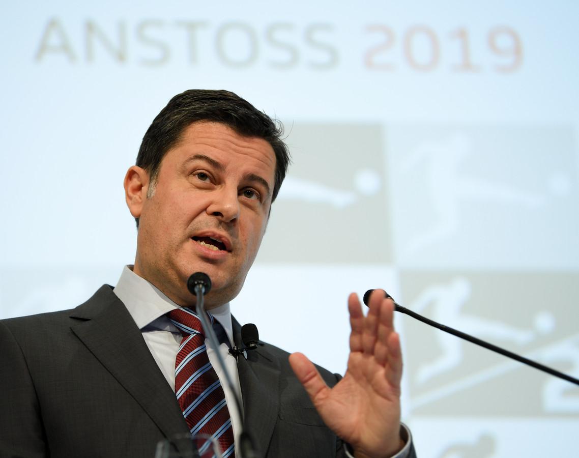 Christian Seifert, voorzitter Deutsche Fussball Liga.