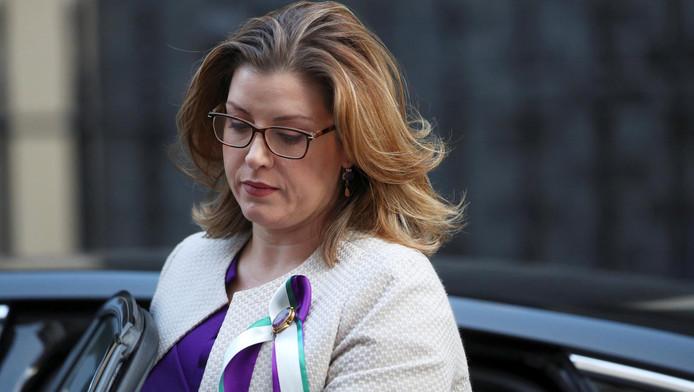 Penny Mordaunt, secrétaire d'État britannique du Développement international.