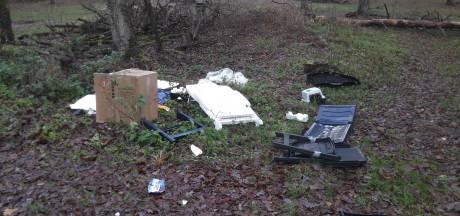 Nijreesberg bij Almelo verandert in afvalberg