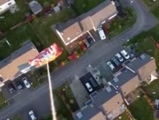 Il se fait livrer l'apéro par le drone de son voisin en plein confinement
