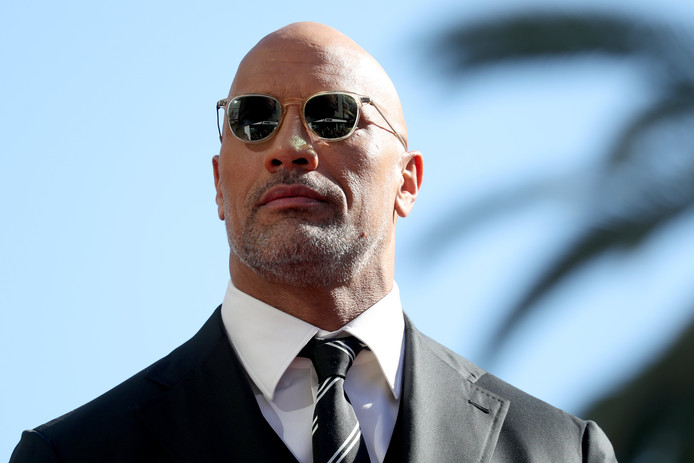 "Acteur Dwayne ""The Rock"" Johnson op archiefbeeld."
