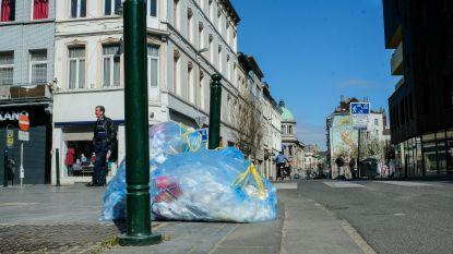 Net Brussel annuleert opnieuw omhalingen van blauwe en gele zakken