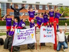 Schrijven de jongens van de Wiz@rd schoolvoetbalgeschiedenis in Deventer?