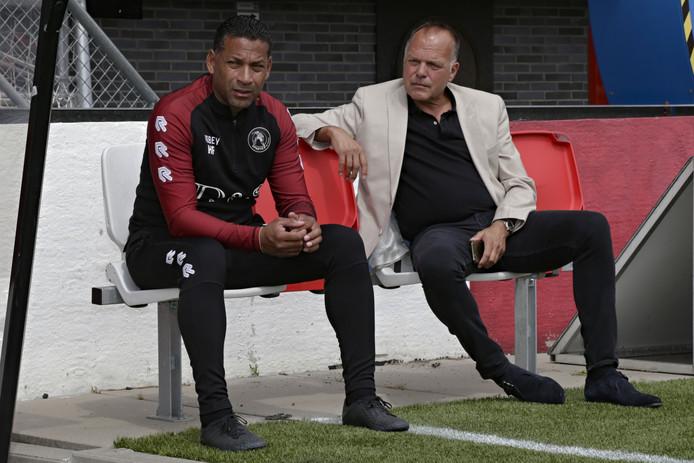 Henk Fraser en Henk van Stee.