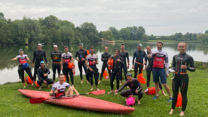 """Gentse triatlonclubs mogen openwaterzwemmen in Blaarmeersen: """"Nu kunnen we eindelijk volwaardig trainen"""""""