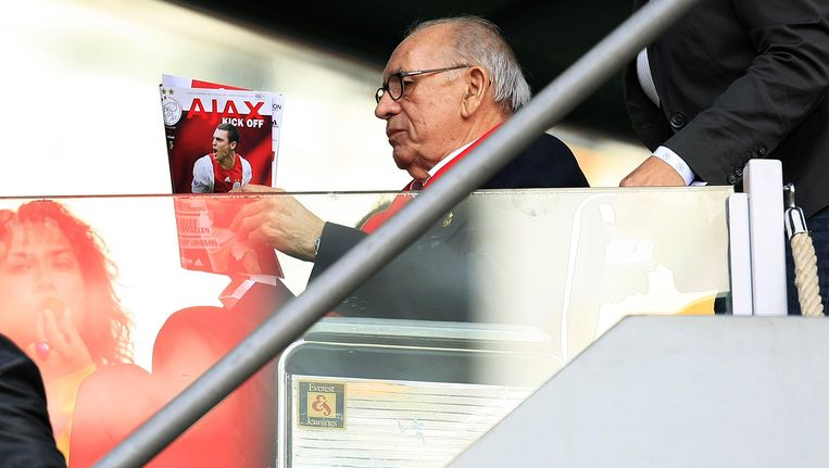 Bobby Haarms, de ziel van Ajax. Beeld anp