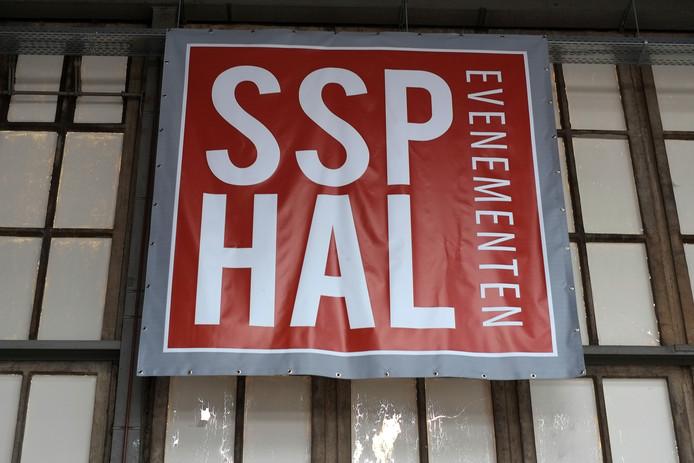 De  SSP hal  in Ulft waar de 25ste editie van Huntenkunst werd gehouden.