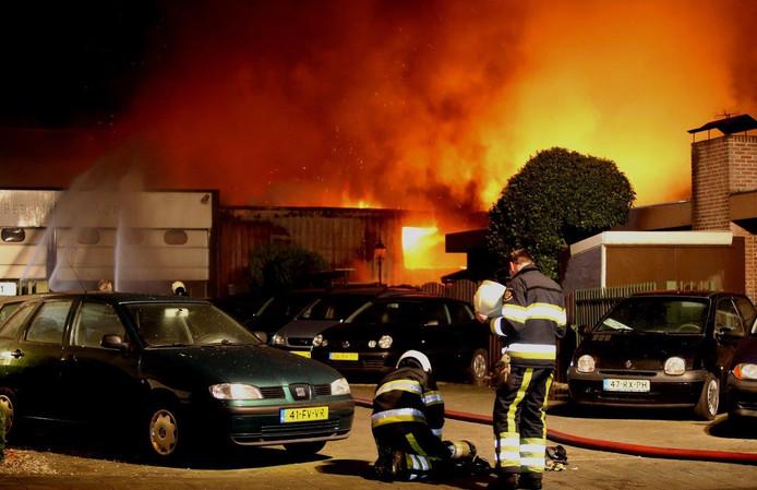 Brand De Beverspijken Den Bosch