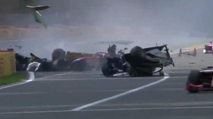 Drama in Francorchamps: jonge Fransman komt om in Formule 2-race
