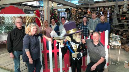Vernieuwde bloemenwinkel viert met 'Circus Kerst'