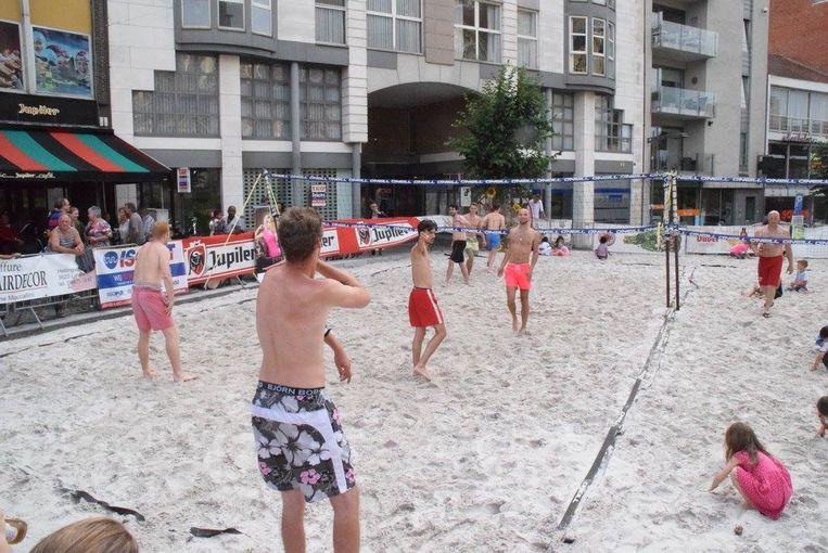 Dit jaar geen zandstrand meer in het centrum, want het Bunkie Beachvolleyfestival houdt ermee op.