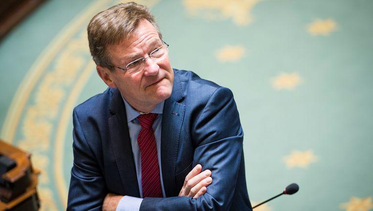 Minister van Financiën Johan Van Overtveldt.