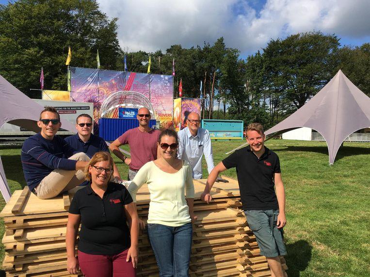 De organisatoren van Rijvers Festival.