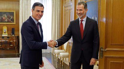 Spaanse koning benoemt sociaaldemocraat Pedro Sánchez tot formateur