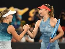 Sjarapova klopt Wozniacki in duel der diva's