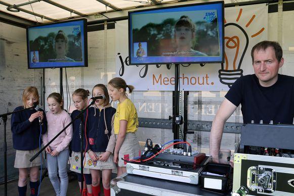 Ook een partijtje karaoke behoorde tot de mogelijkheden.