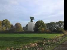 Rij bomen moet 30 meter hoge radar van defensie bij Herwijnen gaan verhullen