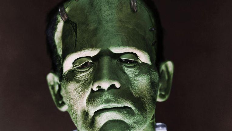 Boris Karloff, de archetypische Frankenstein in de film uit 1931. Beeld getty