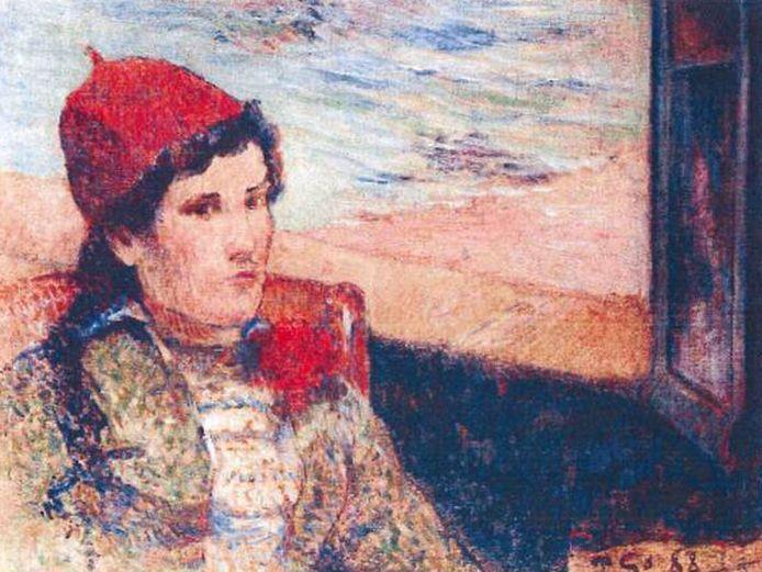 Paul Gauguin: 'Femme devant une fenêtre ouverte, dite la Fiancée' (1888)