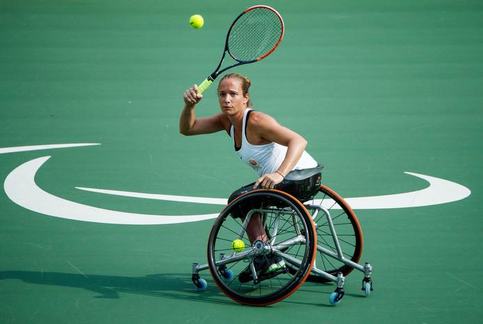 Jiske Griffioen speelt deze week weer haar eerste partij tijdens de French Riviera Open.