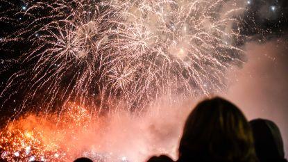 Antwerpen zet 2020 in met vuurwerkspektakel op Schelde