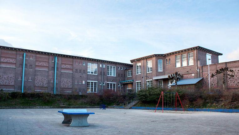 Het gebouw waar de Toneelschool Arnhem was gehuisvest. De foto is gemaakt in 2010. Beeld Han Koppers