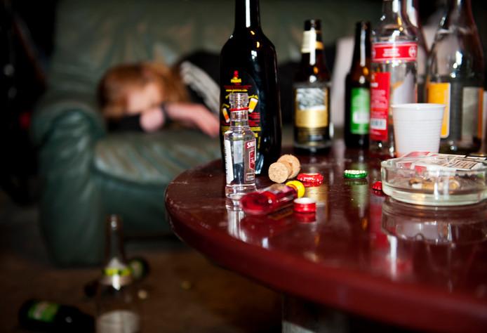 Foto ter illustratie: In Dedemsvaart drinkt 60 procent van de jongeren op z'n minst eens in de dertig dagen alcohol, en bijna een vijfde daarvan zoveel dat ze er dronken van worden