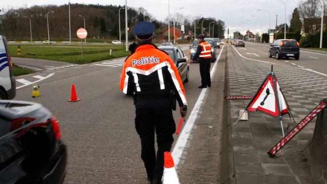 Politie neemt nummerplaten in beslag