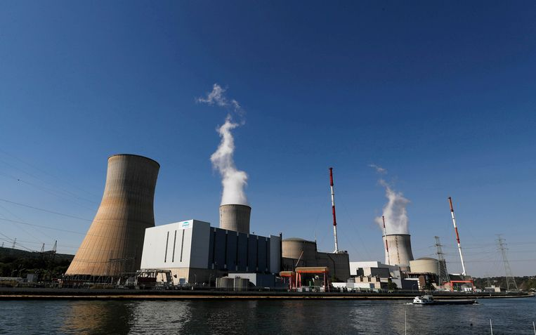Kerncentrale in Tihange.