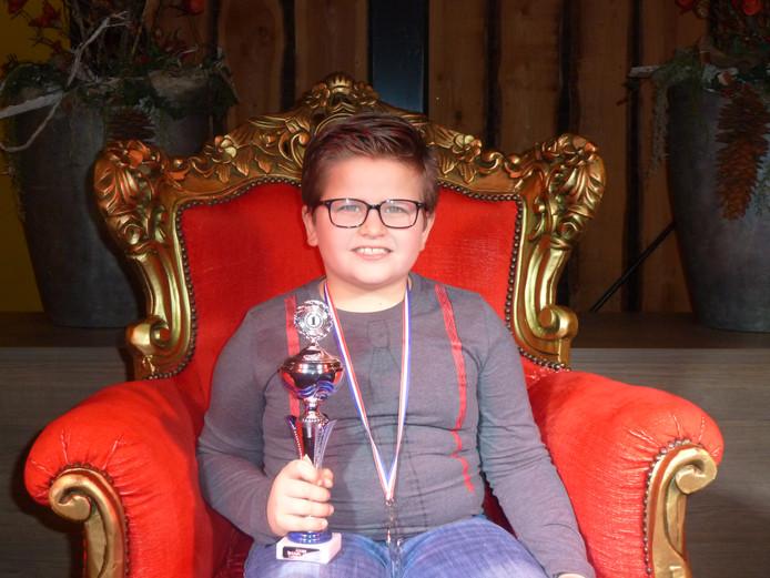 Ruben was de beste van 18 genomineerde dichters