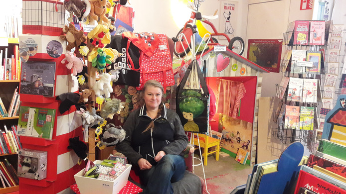 Stephanie de Coo van kinderboekwinkel Nooitgenoeg