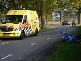 Motorrijder gewond na ongeluk in Galder