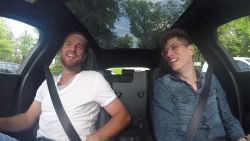"""Xavier Malisse in de auto bij onze videoman: """"Ik was niet graag mijn coach geweest vroeger"""""""