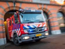 Huizen lopen onder door gesprongen waterleiding in Leiden