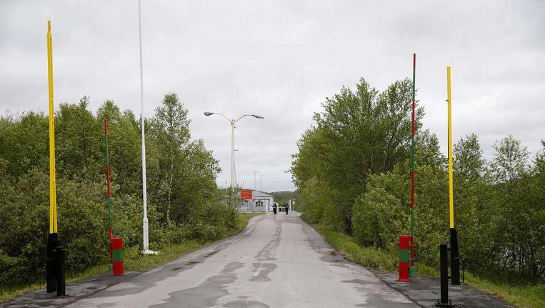 De grensovergang bij Storskog Beeld anp