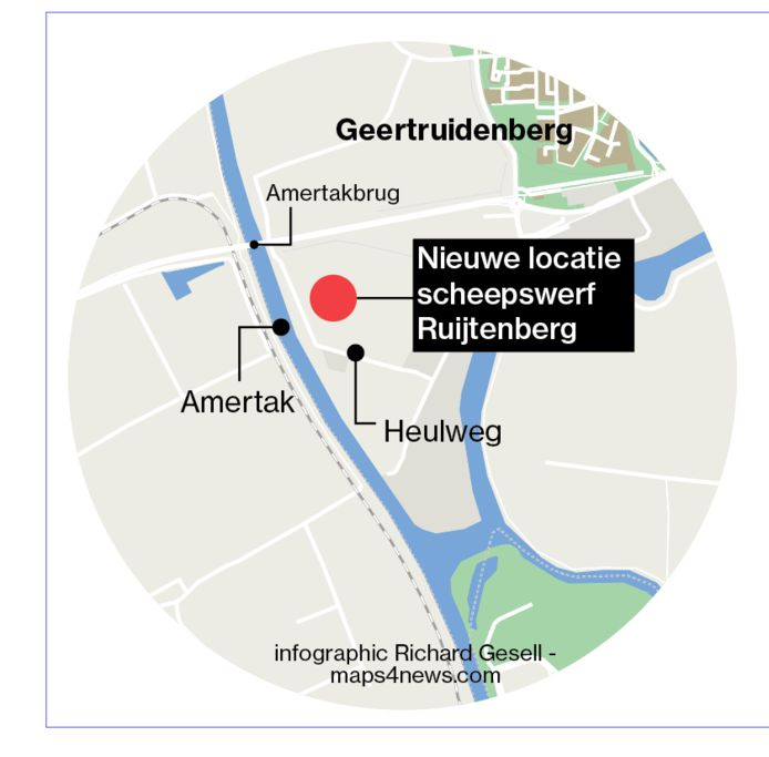 Locatie Heulweg