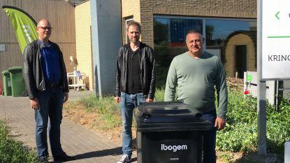 Container vervangt zak voor restafval: Ibogem voert diftarsysteem in